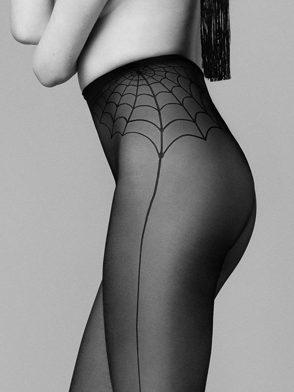 Silonky Fiore Spider Woman 30 den